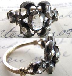 ring - vintage Georgian