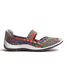 Look what I found on #zulily! Fuchsia & Gray Solar Slip-on Shoe by CC Resorts #zulilyfinds