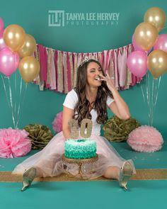 Sarah, celebrating her 30th!