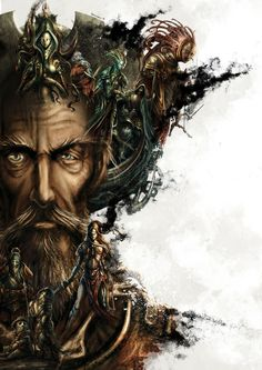 La Sombra de Don Quijote by Patricio Clarey | Editorial Illustration | 2D | CGSociety