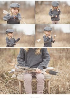 felt + sticks bow and arrow  jenny cruger nashville child photo