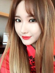 LE of EXID  She is just too cute!!
