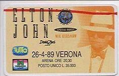 SCRIVOQUANDOVOGLIO: ELTON JOHN A VERONA (26/04/1989)
