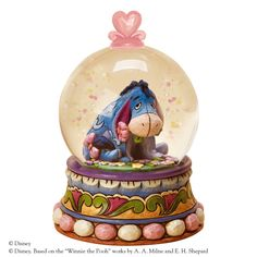 4015351 Gloom to Bloom (Eeyore waterball)- Designed by award winning artist and sculptor, Jim Shore for the Disney Traditions brand #enesco #jimshore #keepsake
