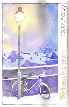 bicycle at night - Sigrun343