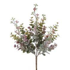 Eucalyptus 65cm Spray Fairy Village, Artificial Plants, Spotlight, Greenery, Garland, Wreaths, Floral, Flowers, Crafts