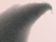 Sunset on Mars: A Digital Print Made of Thousands of Climbing Figures by Woojin Chang