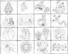Výsledok vyhľadávania obrázkov pre dopyt ročné obdobia pracovné listy
