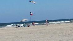 Port Aransas Texas legs kite