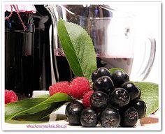 sok z aronii (z dodatkiem malin)