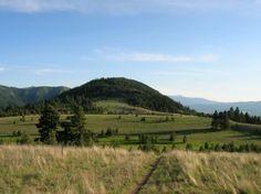 Mount Jumbo in Missoula, Montana