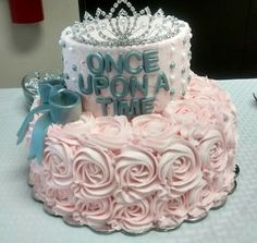 Once upon a time Bridal Shower cake