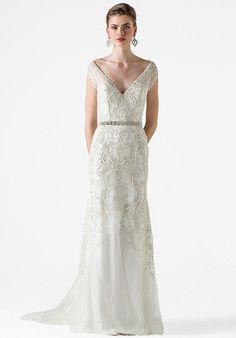 Black Label Anne Barge Garland Wedding Dress - The Knot
