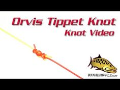 The Orvis tippet know is a combination of the blood and surgeon's knot. Combining both strength and ease to tie. With the Orvis Tippet knot, you are able to . Fly Fishing Knots, Fly Fishing Gear, Pike Fishing, Fishing Rigs, Best Fishing, Fishing Boats, Fishing Gloves, Fishing Hole, Fishing 101