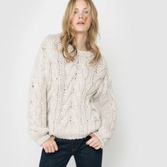 Image Chunky Cable-Knit Jumper R studio