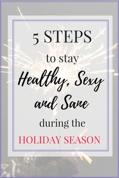 Stay healthy, sexy and sane this holiday season with these five tips from a Pilates pro. Pilates Body, Pilates Workout, Post Workout, Workout Videos, Positive Outlook On Life, Positive Mind, Healthy Tips, How To Stay Healthy, Fun Workouts