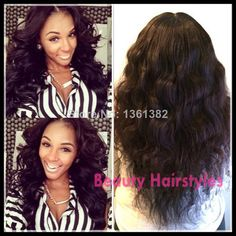Long Wavy glueless full lace wig Brazilian human hair wigs with bangs body hair blenched knots for black women free shipping
