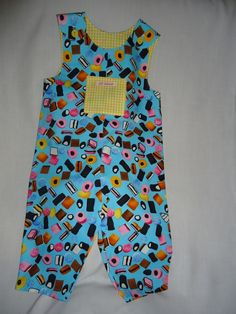 Summer Dungarees Rompers age 6-12 months £9.00