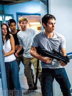 New stills form THE SCORCH TRAILS | aaaahhhh!!! This must be when they see a crank!! Eeekkkk!!