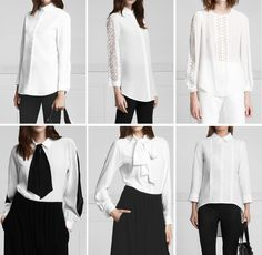 Anne Fontaine blouse and cufflinks - Cerca con Google