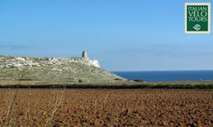 Italian Velo Tours, Trulliland and Salento. End of October cycling Apulia. Riding to Porto Badisco.
