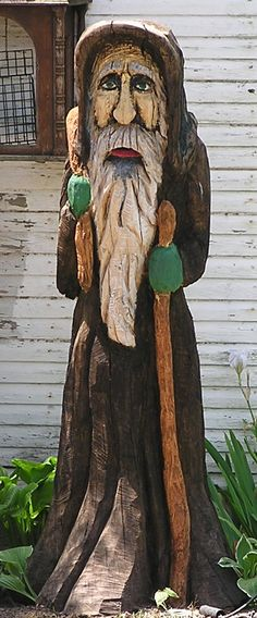Tree carving from the gallery of Dayle K. Lewis