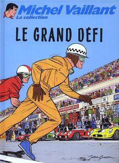 Michel Vaillant - La collection -1- Le grand défi - BD