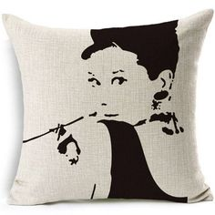 Marilyn Monroe Audrey Hepburn Elvis TV Game Of Thrones Cushion Home Decorative Throw Pillow