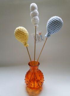 Amigurumi: Arranjo de Bolas. Um arranjo de mesa em crochê super criativo e diferente!