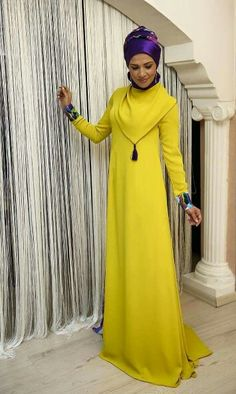 Loving the colour combinations in these #Hijabi outfit posts