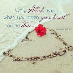 Pour your ❤️ to Allah! #Heart #Dua #SpeakToAllah