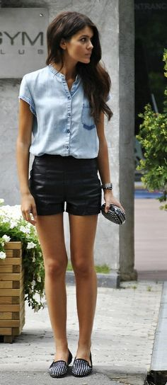 The Chambray Shirt Gets A Fresh Makeover For ...