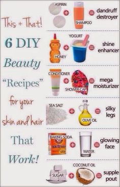 How to Chic: 6 BEAUTY EASY DIY