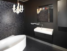 Mason Pepper 300X600 Feature Tile  Tile Bathrooms Bathroom And Inspiration Mosaic Feature Tiles Bathroom Design Ideas