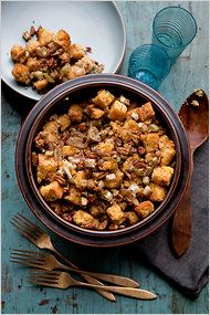 My Gluten-Free, Dairy-Free Apple-Pecan Cornbread Stuffing in the @The New York Times!