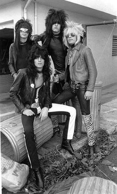 Motley Crue 1981**KISS BAND FOLLOWERS-INDIVIDUAL BOARD NOW CREATED** #80smetal #1980s