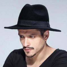 Cool wool fedora hat for men auutmn winter felt hat 967364c0472