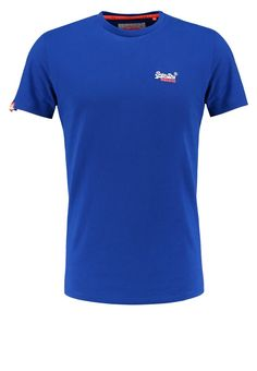 Superdry TShirt basic regal blue Bekleidung bei Zalando.de | Material Oberstoff: 100% Baumwolle | Bekleidung jetzt versandkostenfrei bei Zalando.de bestellen!