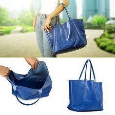 08f65cac6 Uma tote bag espaçosa e prática feita especialmente pensando em você que  precisa carregar até o
