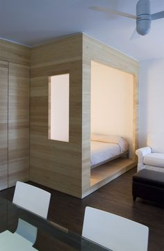 A Tiny Brooklyn Studio Apartment Organized by a Smart Storage Wall | Dwell