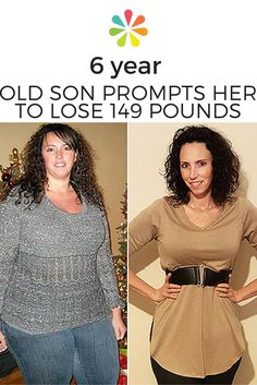 """It all began five years ago when my 6-year-old son asked, """"Mommy, why are you fat?"""" I was shocked. I looked at myself through his eyes and asked: Why was I fat? #weightloss #whattoexpect 