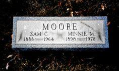 Tombstone Tuesday Name: Samuel Charles MOORE Birth: 08 November 1888; Toronto, Jefferson County, Ohio Death: 12 August 1964; Bergholz, Jefferson County, Ohio Parents: James H. MOORE and Ida L. SIMP…