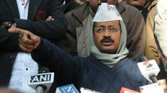 Arvind Kejriwal says, Will work at sit-in, files are being delivered to me