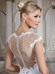 Vestidos de noiva - Coleção Callas (18) Detalhe costas
