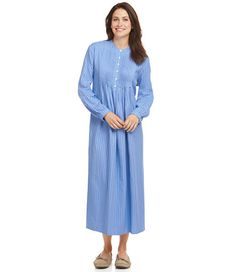 8690fe81761 Vintage Flannel Nightgown