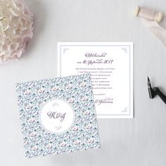 """""""Liberty of Love"""" Wedding Invitation  by Bonjour Paper"""