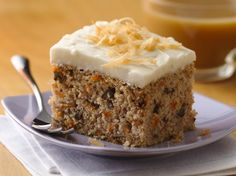 Turn Betty Crocker® Gluten Free yellow cake mix into a delicious homemade carrot cake...it was sooo good even though i completely forgot the butter. I also put a lil more than half the sugar in the frosting