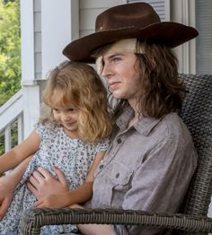 BrotherTedd.com — Carl and Judith Grimes in The Walking Dead Season...