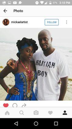 Two Haitian singer