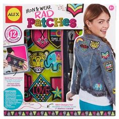 Alex Toys Craft Iron and Wear Rad Patches : Target